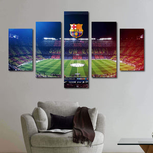 Barcelona FC Camp Nou Canvas Wall Art