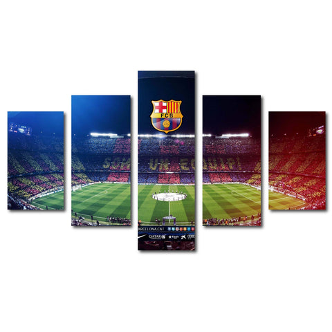 Image of Barcelona FC Camp Nou Canvas Wall Art