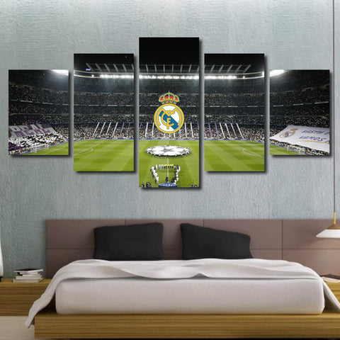 Real Madrid FC Canvas Wall Art