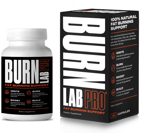 Burn Lab Pro bottle and packaging