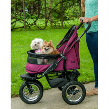 Pet Gear No-Zip Double Pet Stroller - Gentle Giant Pet Supply