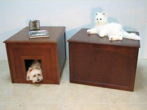 Crown Cat Litter Cabinet/Dog Den - Gentle Giant Pet Supply