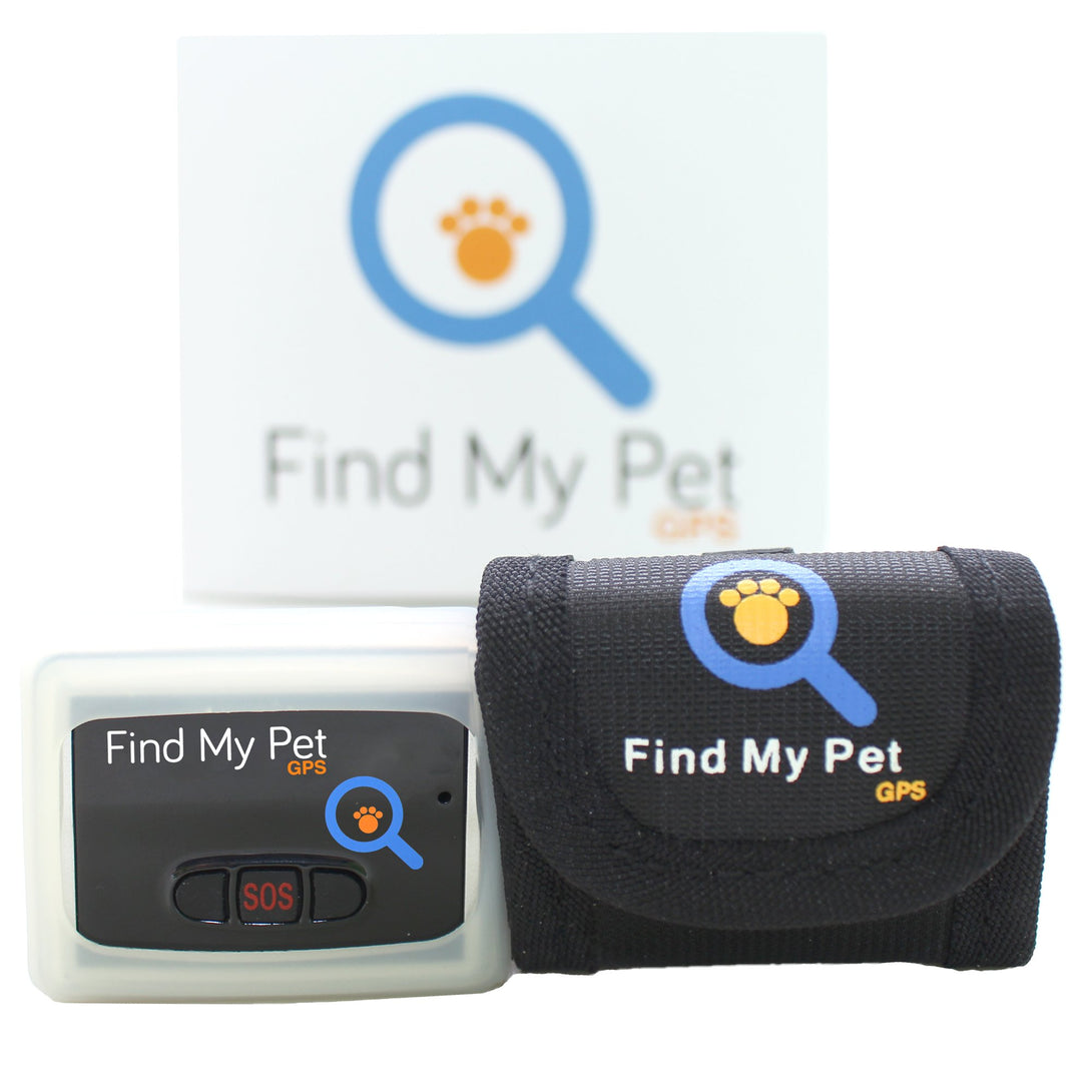 Find My Pet GPS Tracker - Gentle Giant Pet Supply