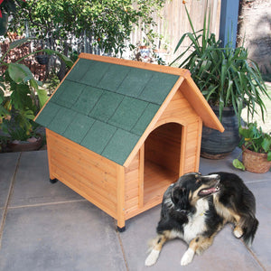 Ware Premium Plus A-Frame Dog House - Extra Large - Gentle Giant Pet Supply