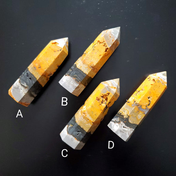 BUMBLE BEE JASPER POINTS
