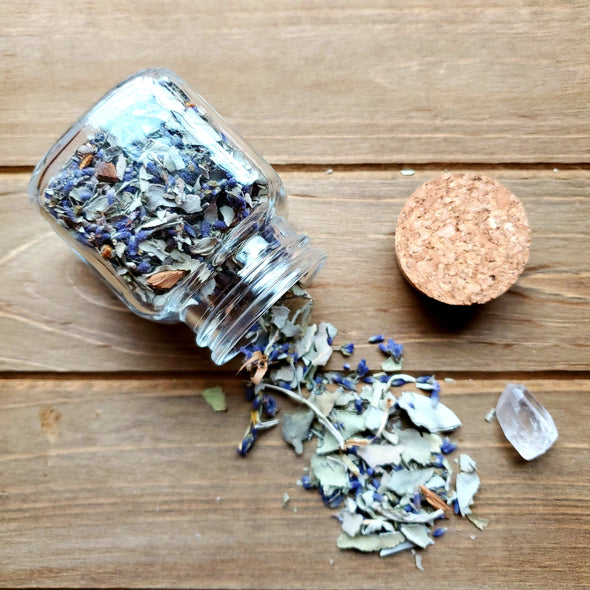 LOOSE WHITE SAGE INFUSED WITH LAVENDER