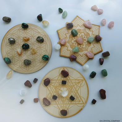 CRYSTAL GRID BOARDS