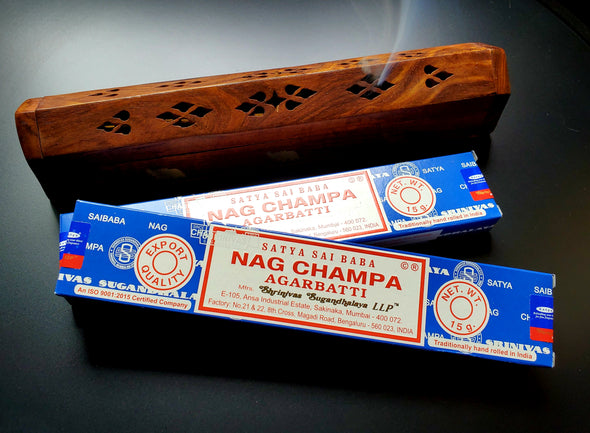 INCENSE WOOD BOXES