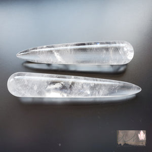 CLEAR QUARTZ WANDS