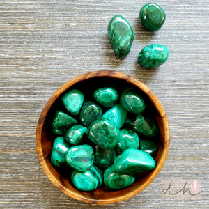 MALACHITE – (HAND POLISHED)