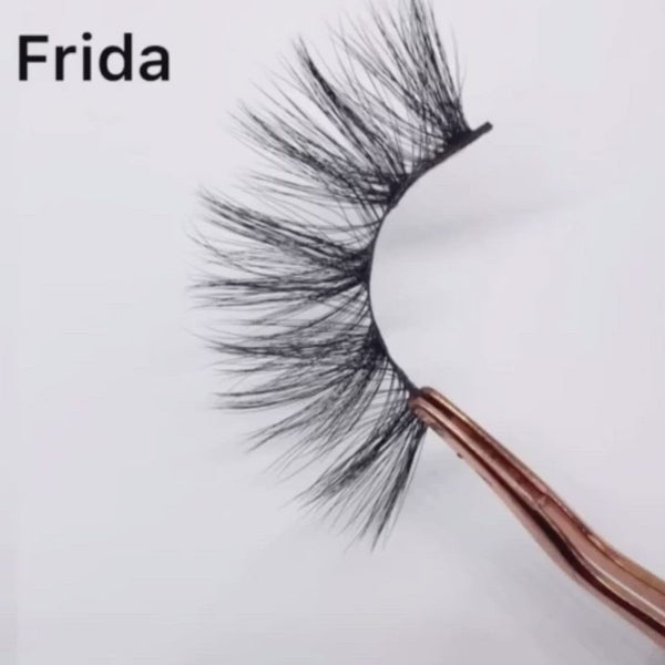 FRIDA 3D Faux Mink 25mm Lashes