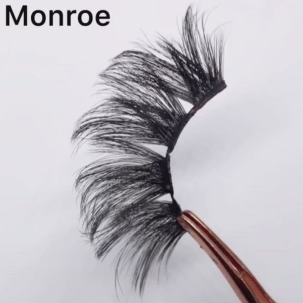 MONROE 3D Faux Mink 25mm Lashes