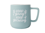 Keep Going Keep Growing Mug