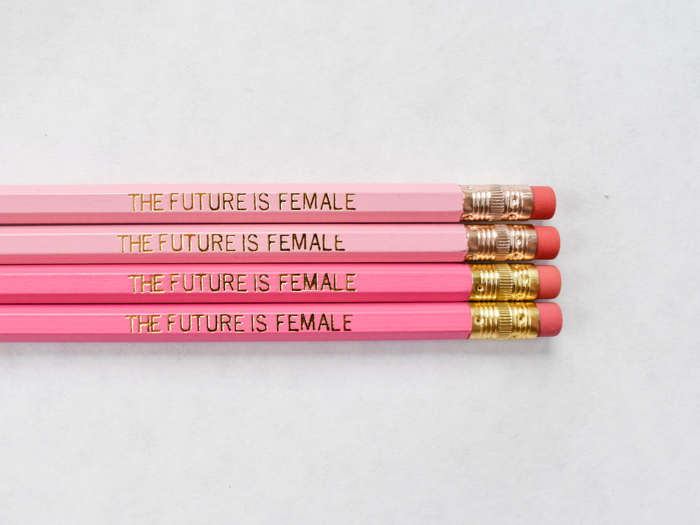 The Future is Female Pencil Set
