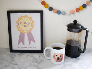 Load image into Gallery viewer, Funny Coffee Mug for Dog Lover | Custom Gift with Face Mugs