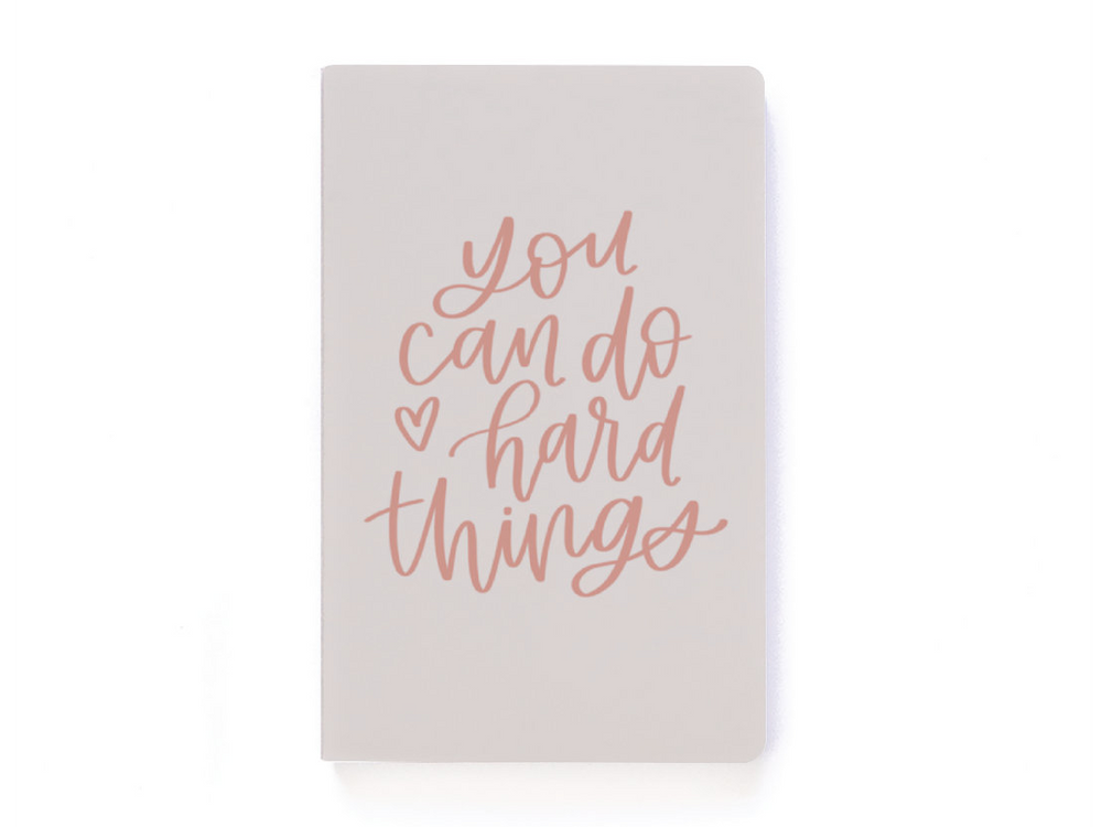 You Can Do Hard Things Dot-Grid Notebook