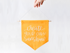 Create Your Own Sunshine Banner