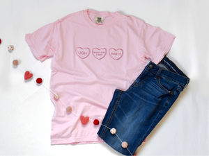 Load image into Gallery viewer, Ironic Conversation Hearts Tee