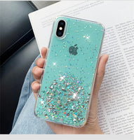 Luxury Bling Sequins Star Glitter Phone Case For iPhone - 4 colours