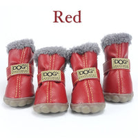 Pet Dog Super Warm Winter Anti-Slip Shoes XS  to XXL - 15 Funky Colours!