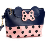 Travel Cosmetic / Toiletries / Makeup Bag with Cartoon Bow - 5 colours