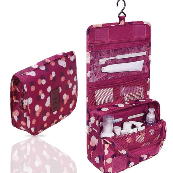 Hanging Travel Wash Bag / Organiser - 3 colours