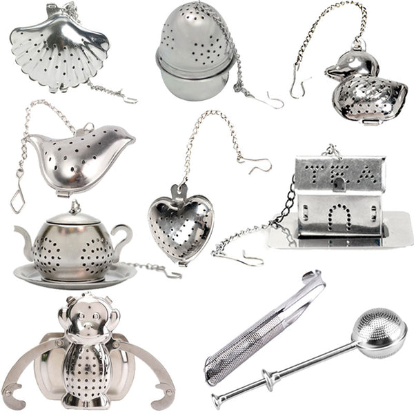 Stainless Steel Novelty Tea Infusers - 10 cute styles