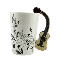 Funky Musical Instrument Coffee Mug - 7 Styles