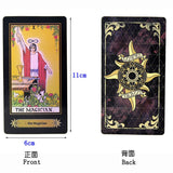 Holographic Rider-Waite Tarot Cards