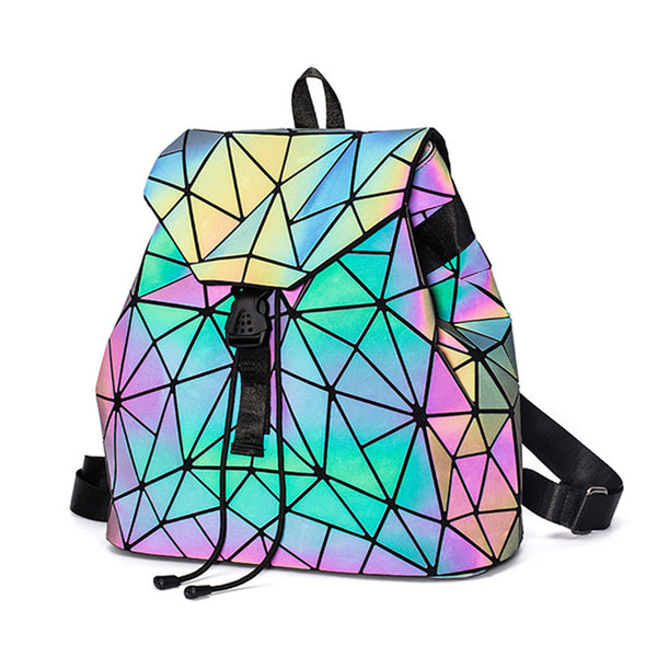 Luminous Geometric Backpack - 2 sizes, 2 pattern styles