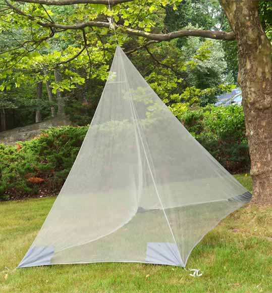 COCOON SINGLE CAMPING MOSQUITO NET WITH OR WITHOUT INSECT SHIELD