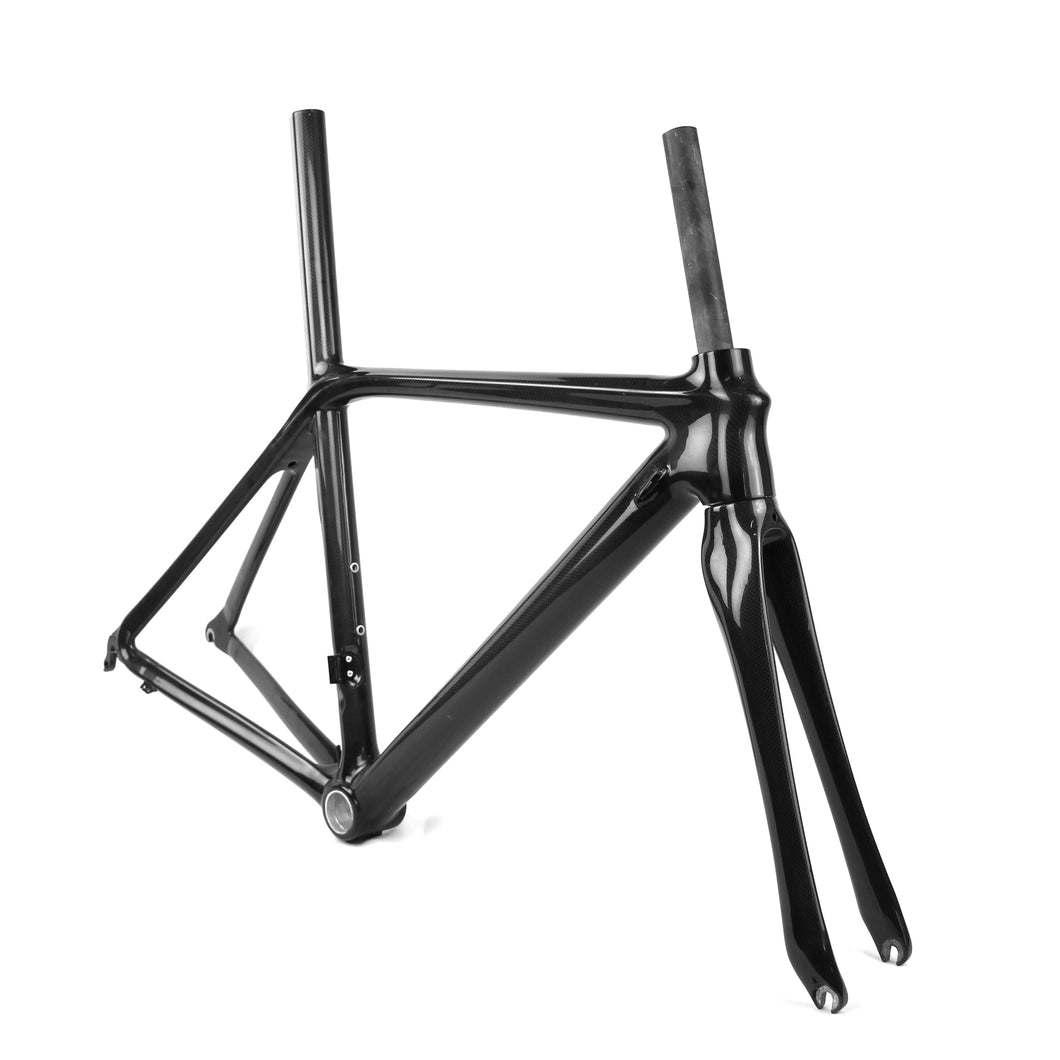 700C CALIPER CARBON BB30/BSA LIGHT ROAD BICYCLE FRAMESET