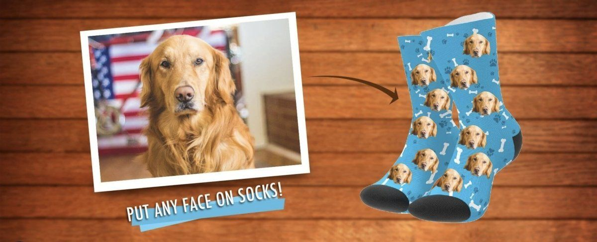 Why Photo Socks Make Great Christmas Gifts For Pet Lovers