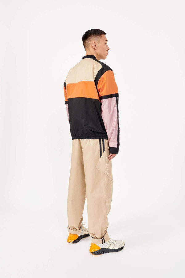 MyPicSocks Track Jacket Embroidery Astrid Andersen-TRACK JACKET EMBROIDERY-BLACK/ORANGE/PINK