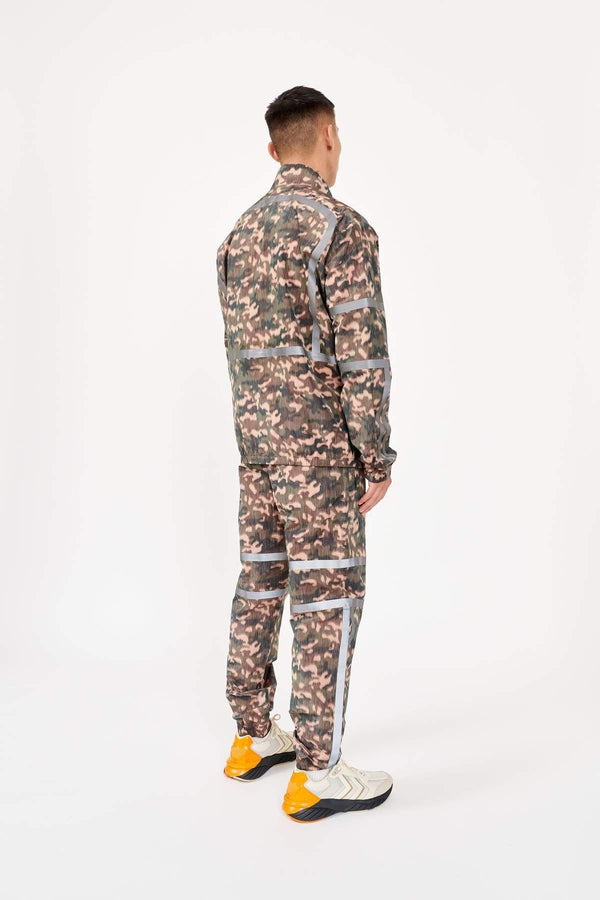 MyPicSocks Track Jacket With Reflective Tape Astrid Andersen-TRACK JACKET WITH REFLECTIVE TAPE-CAMO
