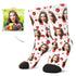 MyPicSocks Custom Face Socks L (Women's 12+ / Men's 10-13) Custom Fruit Face Socks 5