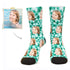 MyPicSocks Custom Face Socks L (Women's 12+ / Men's 10-13) Custom Summer Face Socks 3