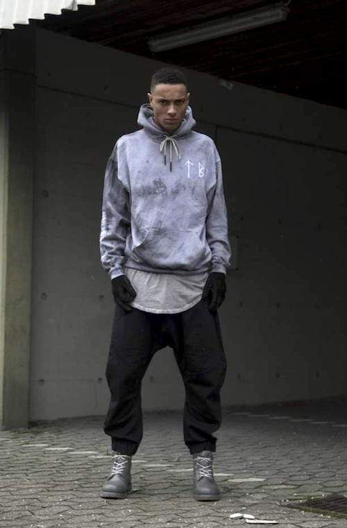 MyPicSocks Sweat-hoodie EMBRODED BASE HOOD