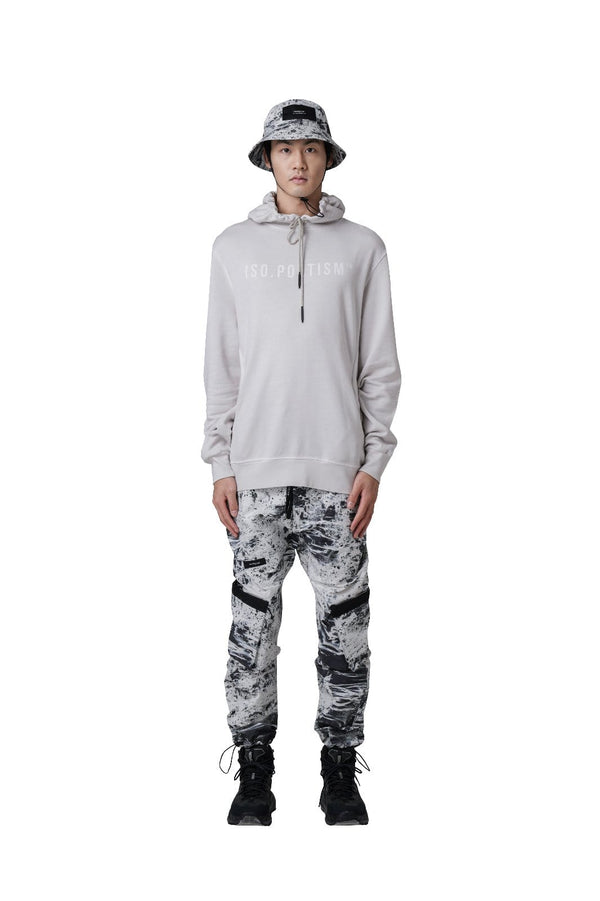 MyPicSocks HOODIE W.FRONT PRINT Iso.Poetism-Neso-Hoodie W.Front Print-Off White Gd