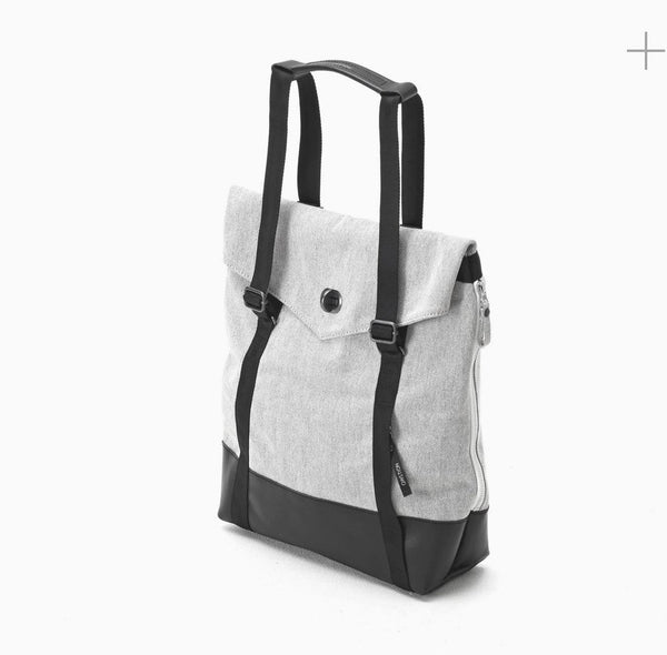 MyPicSocks Tote 40¡Á36¡Á10 cm / SS20 / Unisex Qwstion - Tote - Raw Blend Leather Canvas