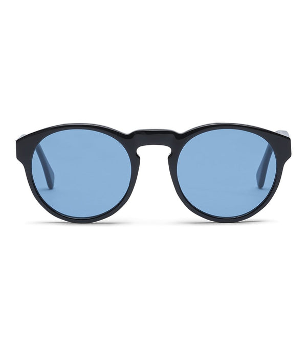 MyPicSocks Suglasses Regular / SS20 / Unisex Sunglasses - Blow - Frame Black Lens Blue