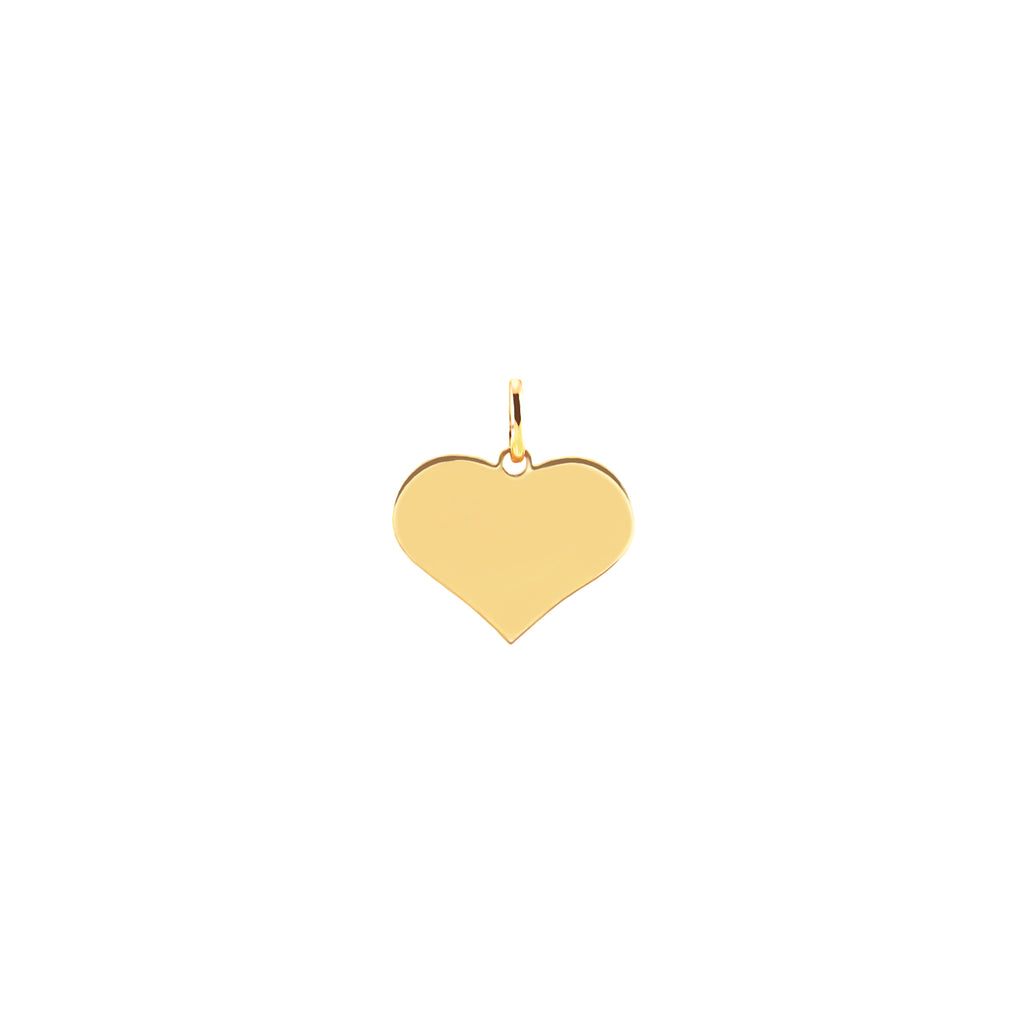 Astrid Yellow Gold Heart Pendant