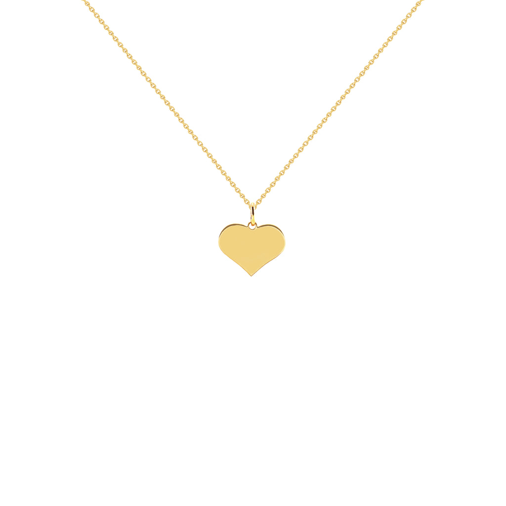 Astrid Gold Heart Necklace