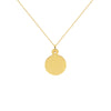 Naomi Gold Disc Necklace