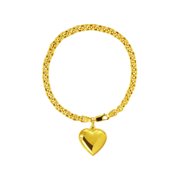 18K Chinese Gold Love Bracelet