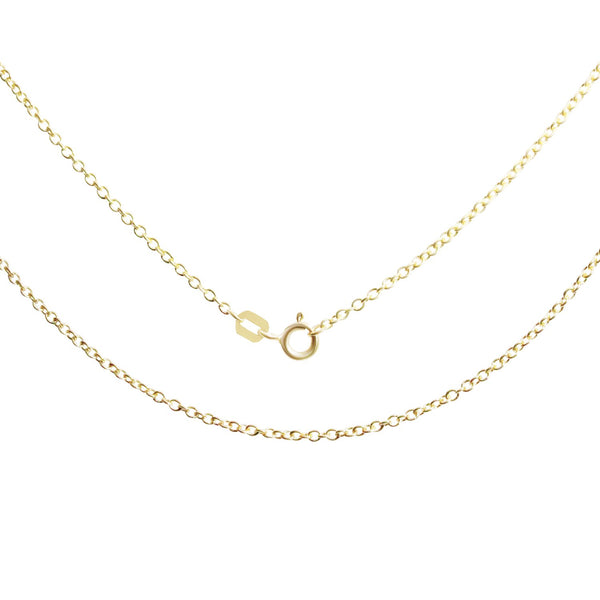 18K Saudi Gold Taoko Necklace  16""