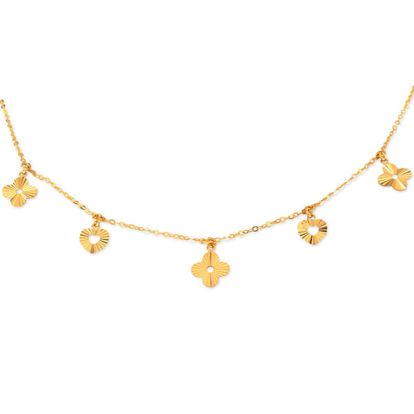 18K Golden Bloom Necklace