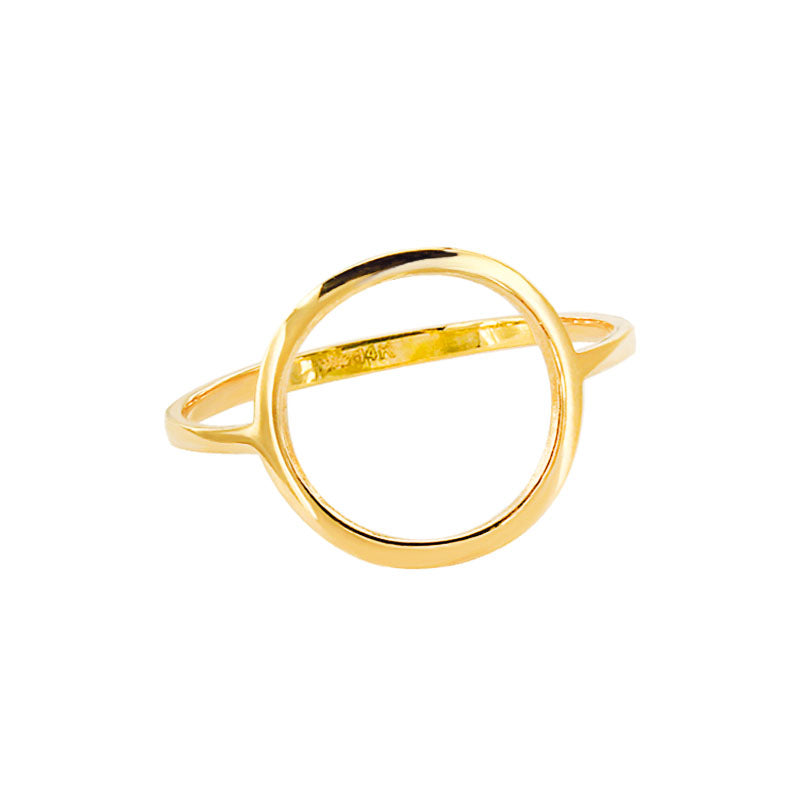 Keepsake Collection 14K Italian Gold Round Ring