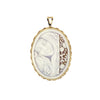 "The Modern Muse Collection ""WHIMSY"" Conch Shell Cameo Pendant/Brooch"