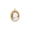 "The Modern Muse Collection ""PONDER"" Conch Shell Cameo Pendant/Brooch"